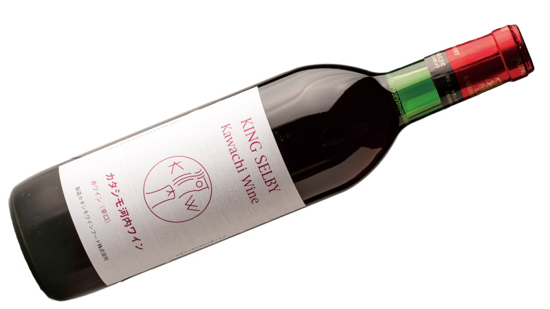 カタシモワイナリー 河内ワイン 赤