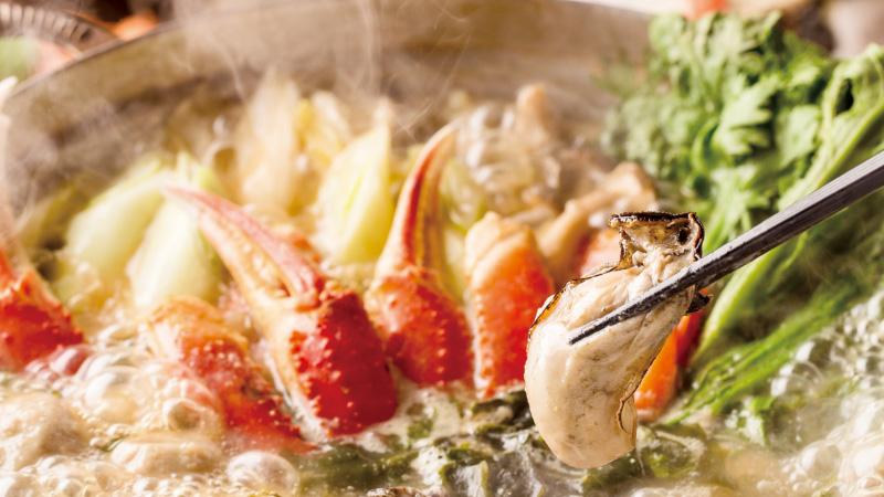 多彩な旬の味を一度に楽しむ「漁師鍋」