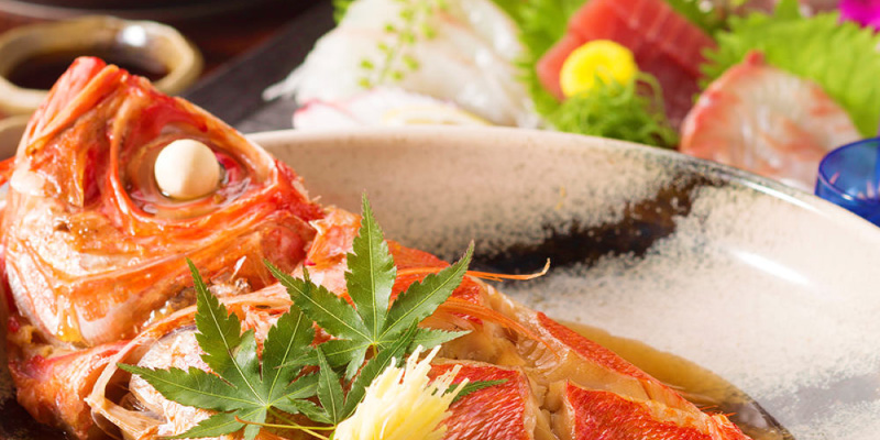 本日の鮮魚の「煮付け」「焼き物」