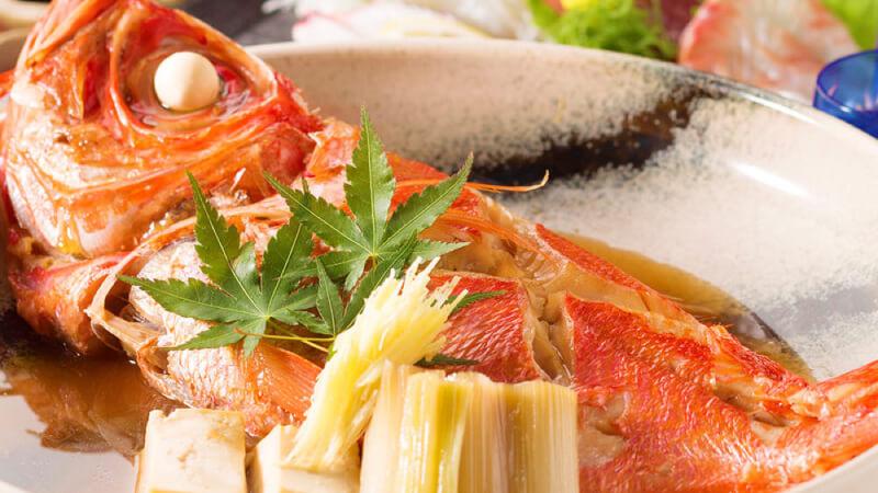 本日の鮮魚の煮付けor本日の鮮魚の焼き物