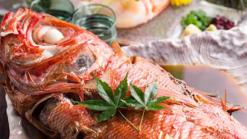 本日の鮮魚の煮付け or 本日の鮮魚の焼き