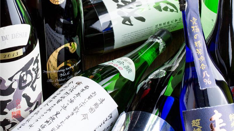日本酒もワインも充実!飲み放題