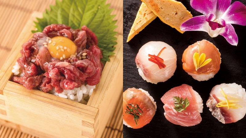 『飯』対決!馬・魚の「お寿司」がパワーアップ