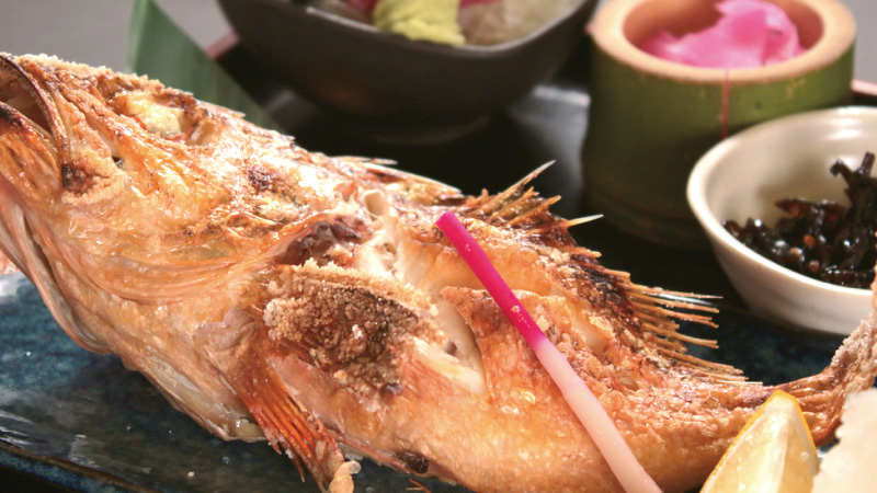 旬の鮮魚を焼き魚で・・・『本日の焼き魚定食』