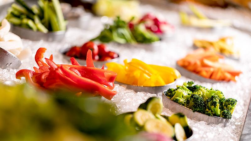 ビタミンたっぷり!当店自慢の新鮮野菜