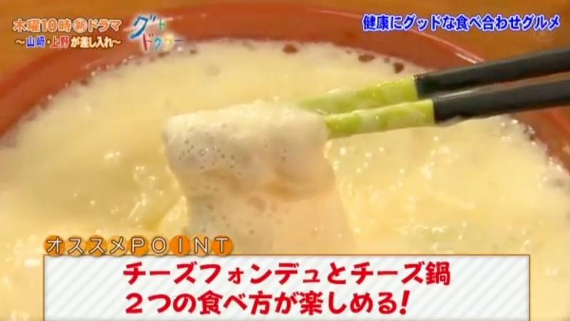チーズフォンデュとチーズ鍋