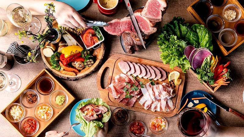 【新橋】シュラスコ食べ放題付き!お腹も大満足のハロウィンプラン