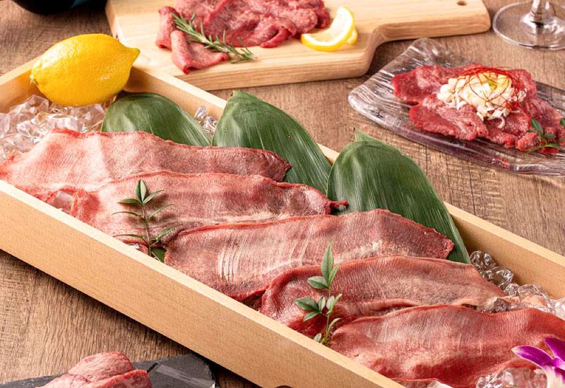伝説の牛タンや幻の牛肉『シャトーブリアン』を食す贅沢コース